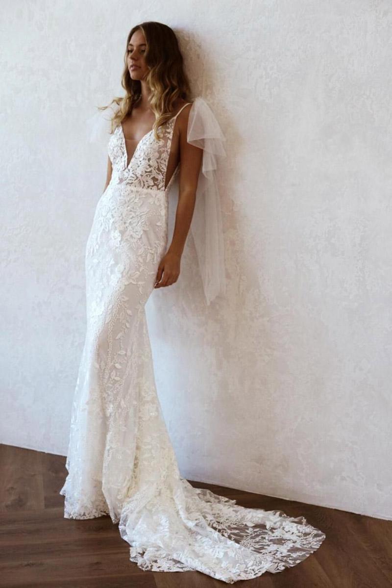 Bohemian Hochzeitskleider von Emmy Mae